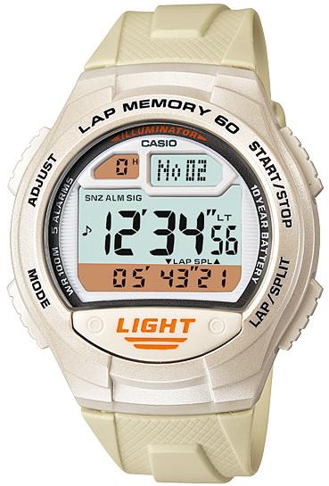 นาฬิกา คาสิโอ Casio 10 YEAR BATTERY รุ่น W-734-7A