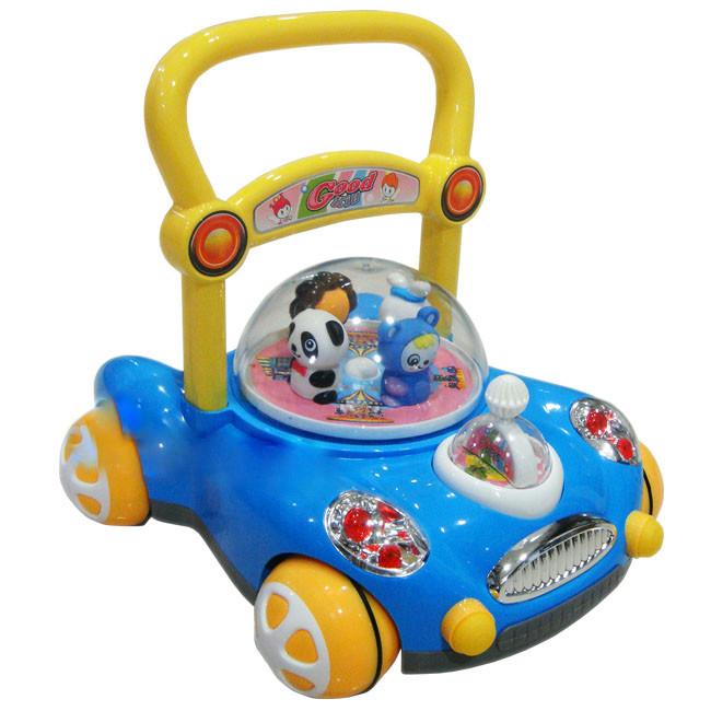 รถผลักเดิน ปรับหนืดได้ Toddler Walker (สีฟ้า)