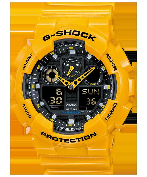 นาฬิกา คาสิโอ Casio G-Shock Standard Analog-Digital รุ่น GA-100A-9A (BUMBLE BEE)