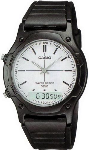 นาฬิกา คาสิโอ Casio STANDARD ANALOG-DIGITAL รุ่น AW-49H-7E
