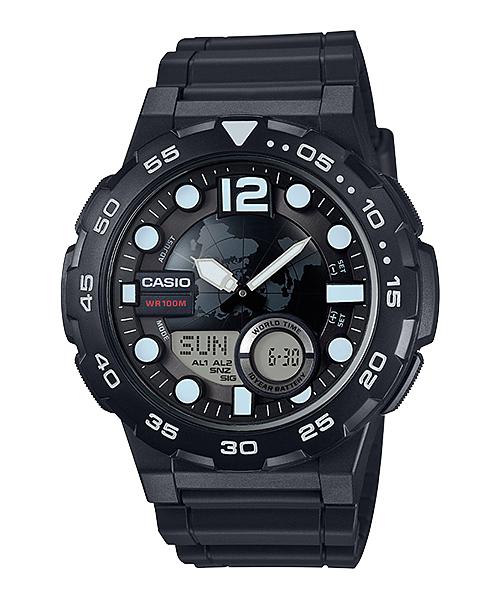 นาฬิกา Casio 10 YEAR BATTERY รุ่น AEQ-100W-1AV ของแท้ รับประกัน 1 ปี