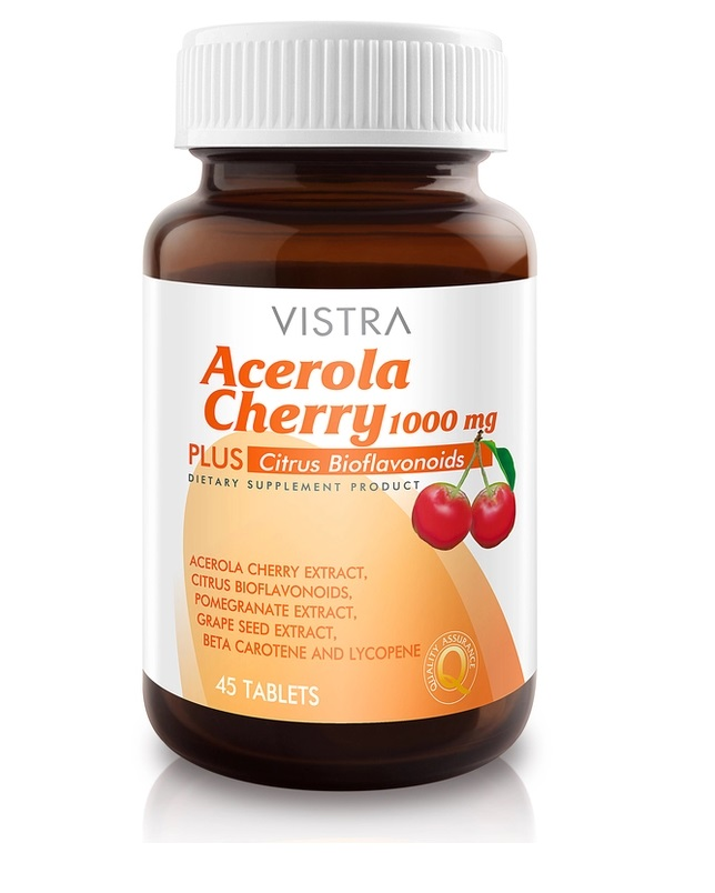 Vistra Acerola Cherry 1000mg 45's