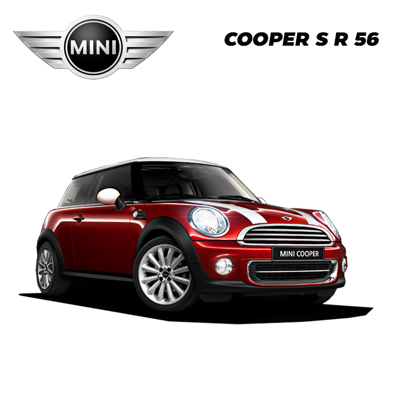 พรมดักฝุ่นไวนิล ชุด Full จำนวน 4 ชิ้น MINI COOPER S R 56