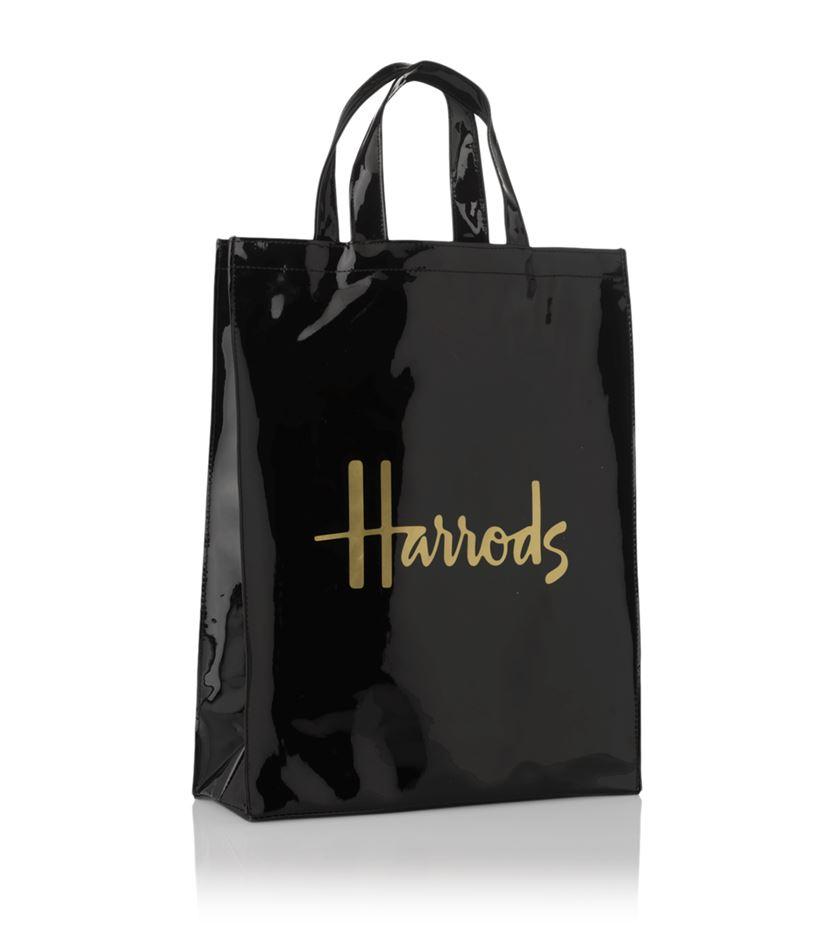 กระเป๋าช้อปเปอร์แฮร์รอดส์ของแท้ Harrods Medium Signature Shopper Bag