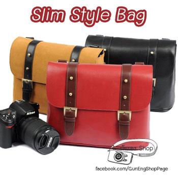 กระเป๋ากล้องสวยๆ Slim Style Bag