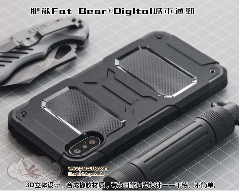 เคสกันกระแทก Apple iPhone X จาก Fat Bear [Pre-order]