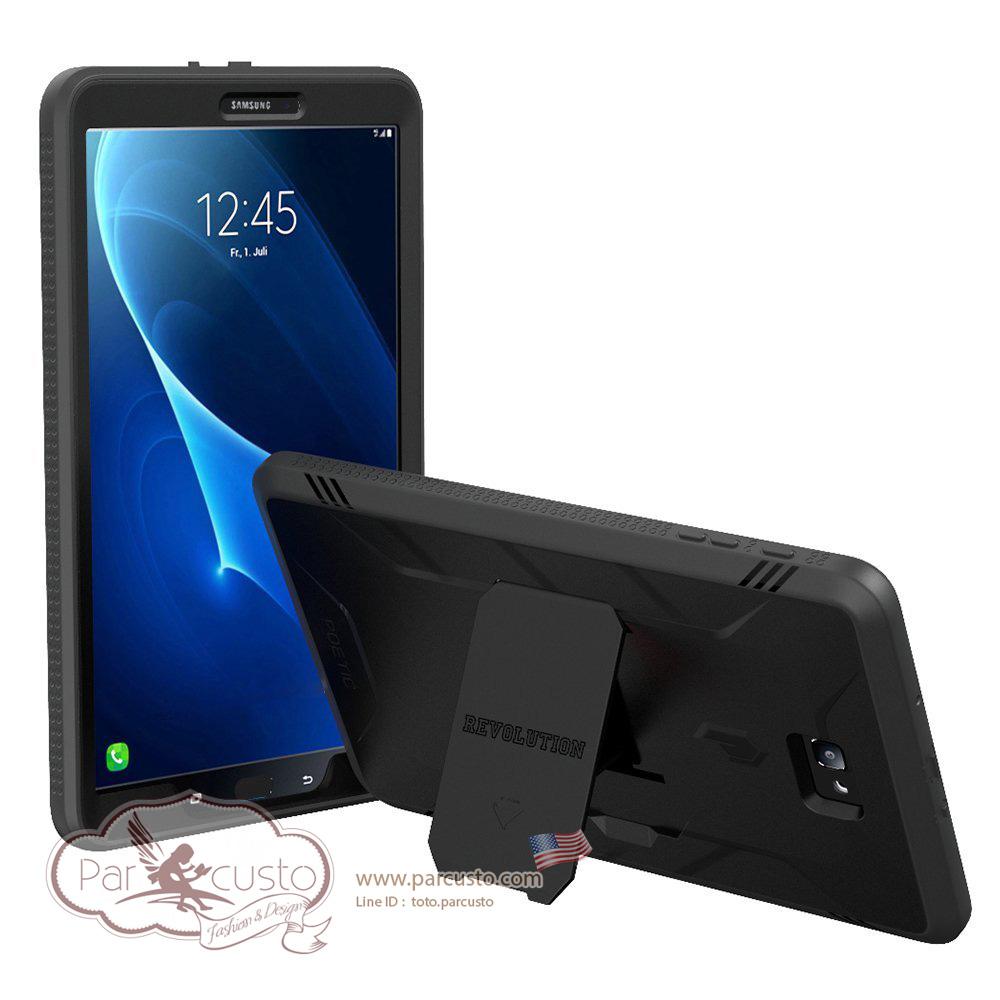 เคสกันกระแทก Samsung Galaxy Tab A 10.1 [Revolution Series] ไม่รองรับ S-pen จาก POETIC [Pre-order USA]