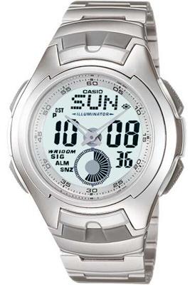 นาฬิกา คาสิโอ Casio STANDARD ANALOG-DIGITAL รุ่น AQ-160WD-7B