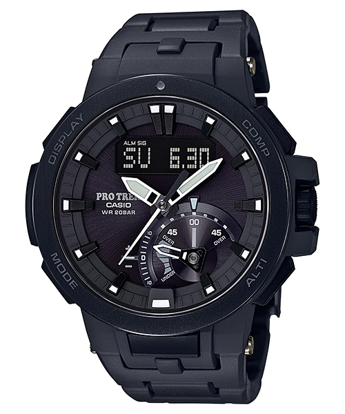 นาฬิกา Casio PRO TREK MULTI-FIELD Line รุ่น PRW-7000FC-1B ของแท้ รับประกัน1ปี