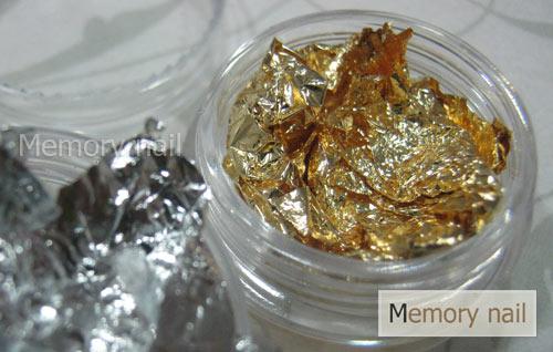 ฟรอยล์เงินทอง 1 กล่อง มี 12 กระปุก