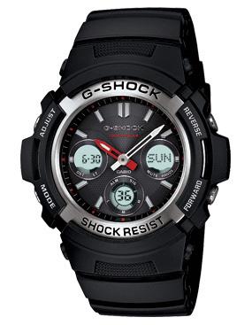 นาฬิกา คาสิโอ Casio G-Shock Standard Analog-Digital รุ่น AWR-M100-1ADR