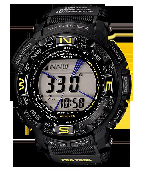 นาฬิกา คาสิโอ Casio PRO TREK DUAL-LAYER LCD รุ่น PRG-260G-1