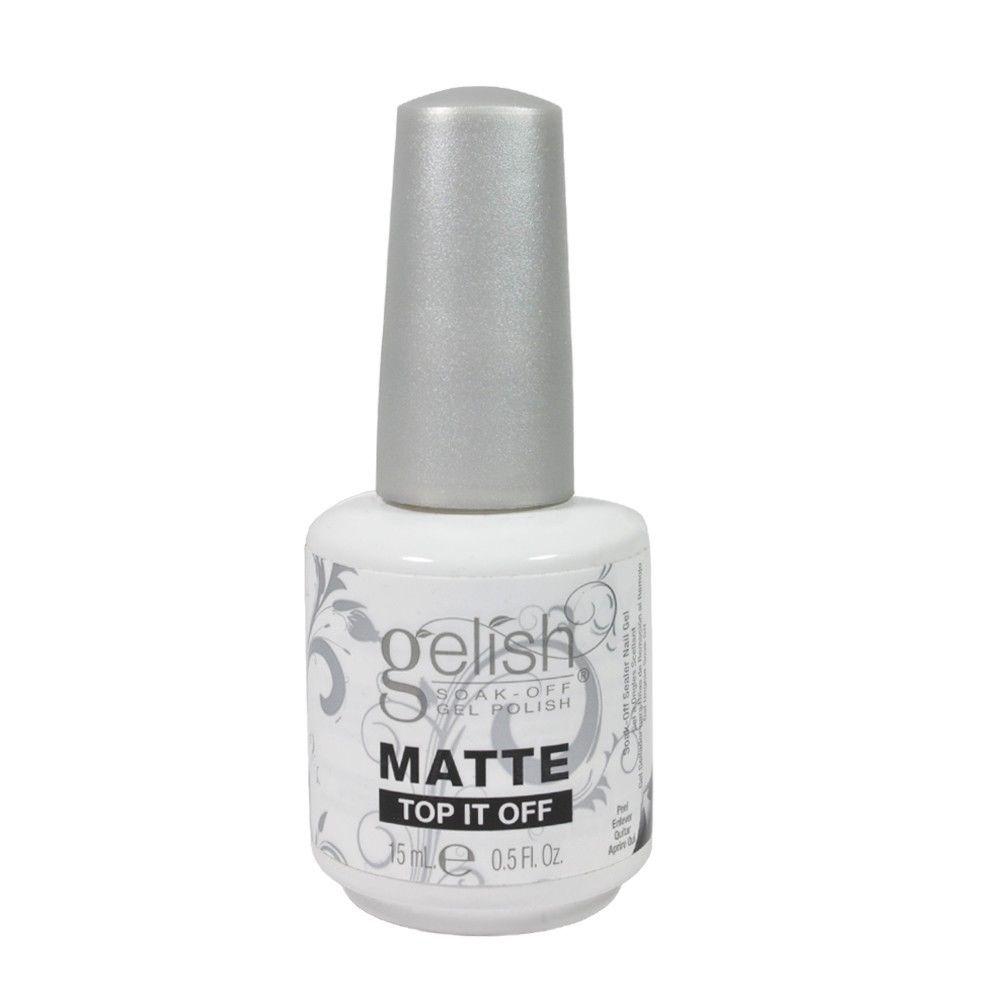 Matte Top It Off Nail Harmony เคลือบใส สีด้าน
