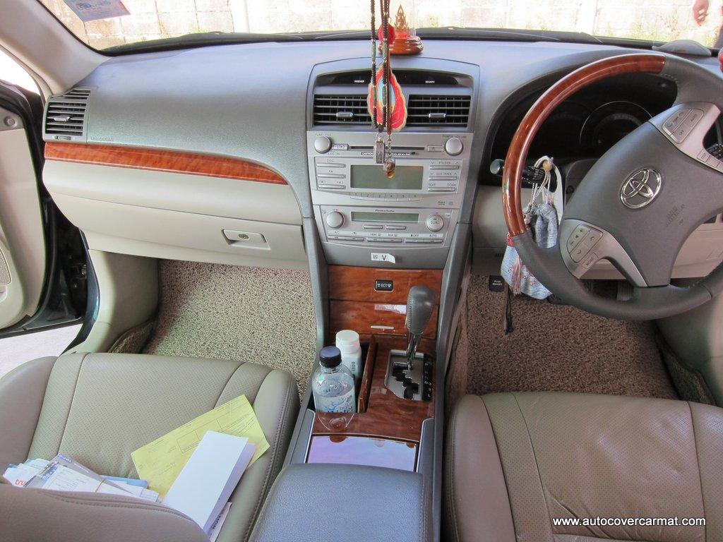 พรมดักฝุ่นไวนิล ชุด Full จำนวน 14 ชิ้น Toyota Camry 2007-2011