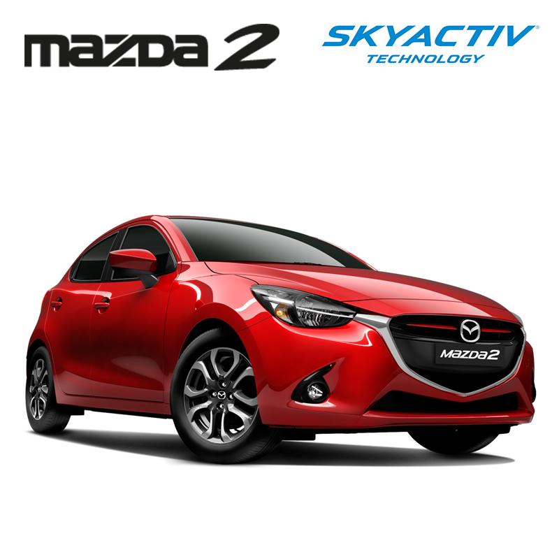 พรมกระดุม Super Save ชุด Full จำนวน 15 ชิ้น MAZDA 2 Skyactiv 4-5 Door 2015-2019