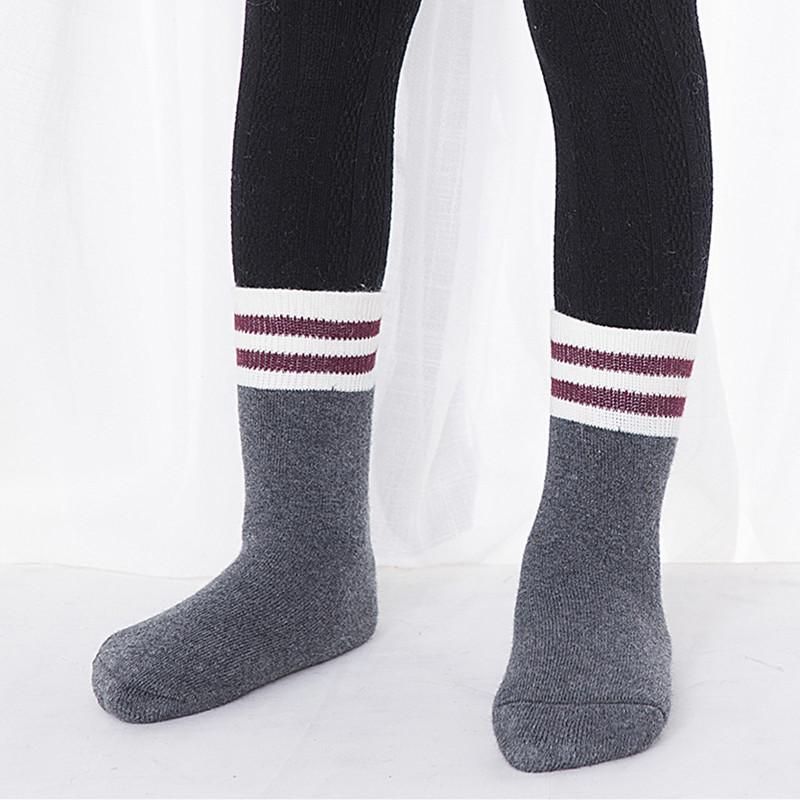 SC107-101 ถุงเท้ากันหนาวขนเทอรี่ ลายน่ารัก นุ่ม อุ่นสบาย ขนาด 16-18 cm สำหรับเด็ก 3-5 ขวบ