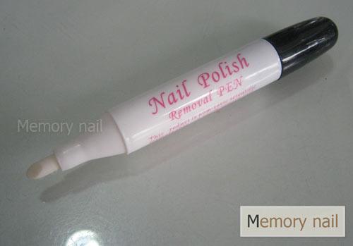 ปากกาเช็ดขอบเล็บ,ที่ช็ดขอบเล็บ