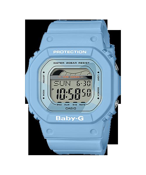 นาฬิกา Casio Baby-G G-LIDE 2018 รุ่น BLX-560-2 (สี blue crayon) ของแท้ รับประกัน1ปี