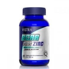 Vistra BCAA Plus Zinc Sport Nutrition บรรจุ 60 แคปซูล [ขวดน้ำเงิน] สำเนา