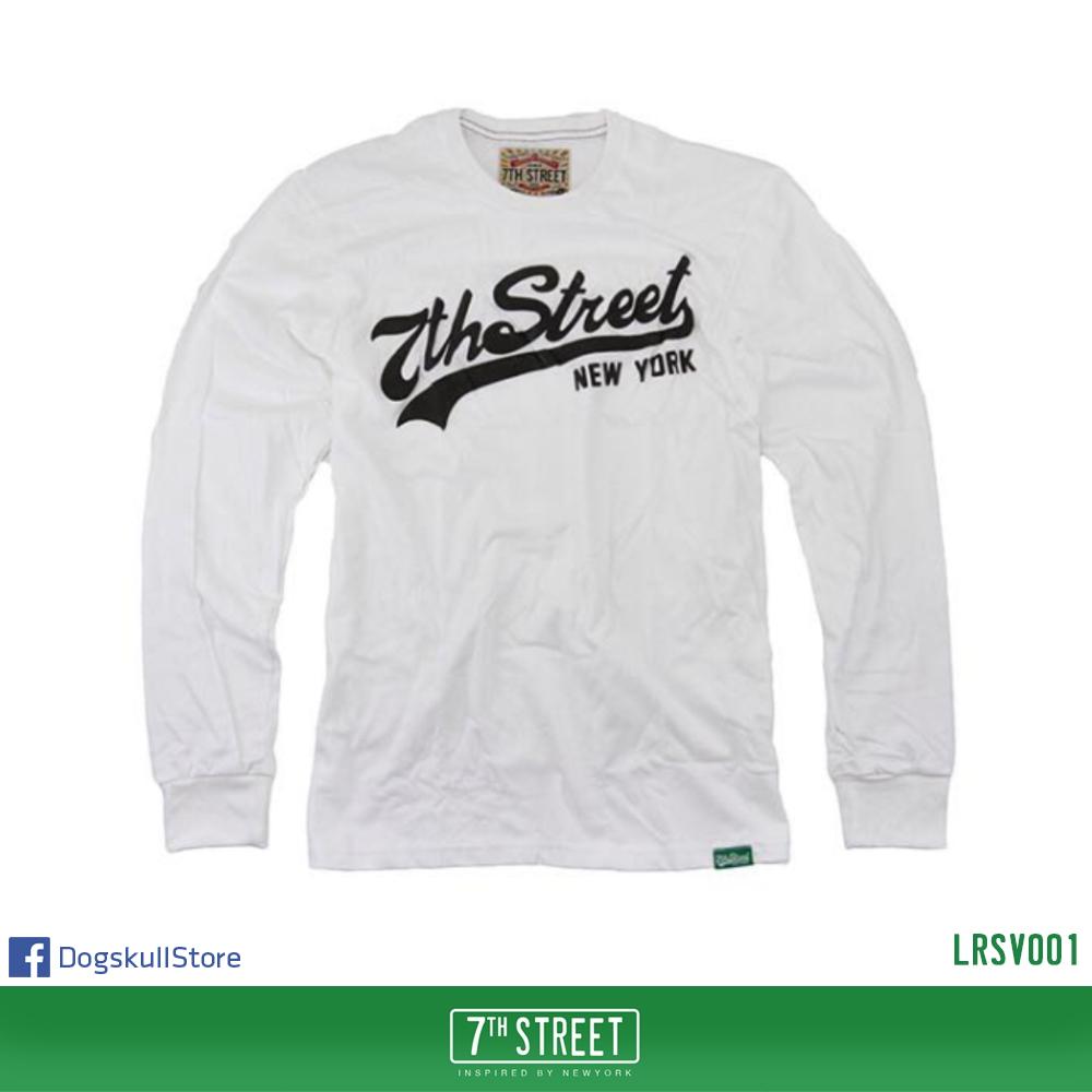 เสื้อยืดแขนยาว 7TH STREET - รุ่น 7th Street | White
