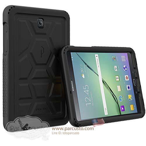 เคสซิลิโคนกันกระแทก Galaxy Tab S2 8.0 [Turtle Skin Series] จาก Poetic [Pre-order USA]