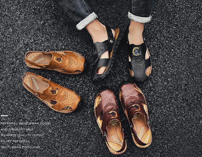รองเท้าหนังลำลอง MMS2280