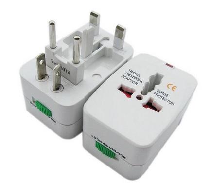 white universal plug สีขาว