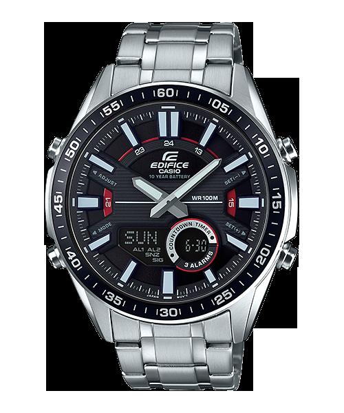 นาฬิกา Casio EDIFICE CHRONOGRAPH แบตเตอรี่ 10 ปี รุ่น EFV-C100D-1AV ของแท้ รับประกัน 1 ปี