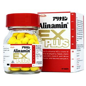 Alinamin EX plus 60เม็ด