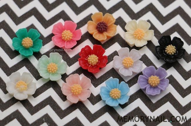 ดอกไม้พลาสติก แยกซอง เลือกแบบด้านใน