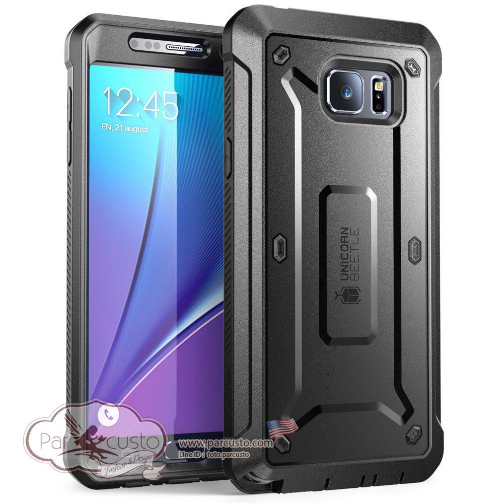เคสกันกระแทก Samsung Galaxy Note 5 [Unicorn Beetle PRO] จาก SUPCASE [Pre-Order USA]