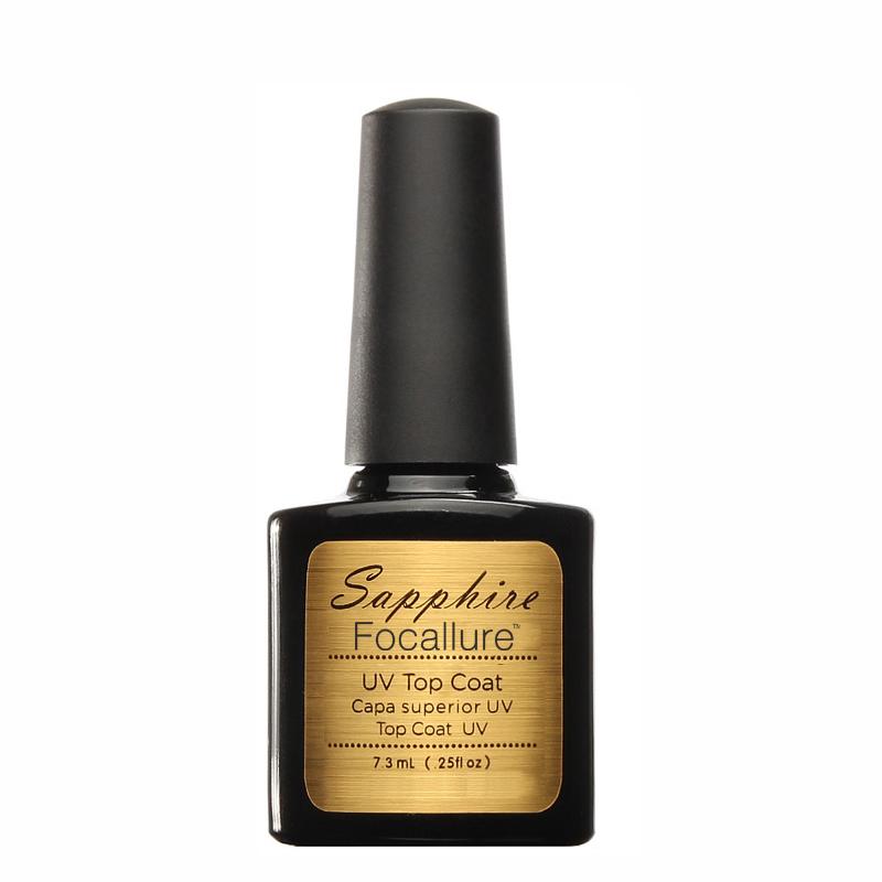 Top coat gel สีเจลทาเล็บ สำหรับเคลือบใส Sapphire
