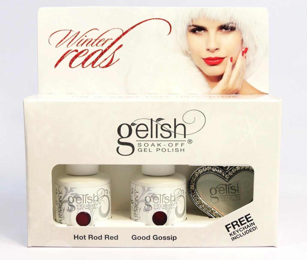 WinterReds Hot Rod Red & Good Gossip + Free Chain