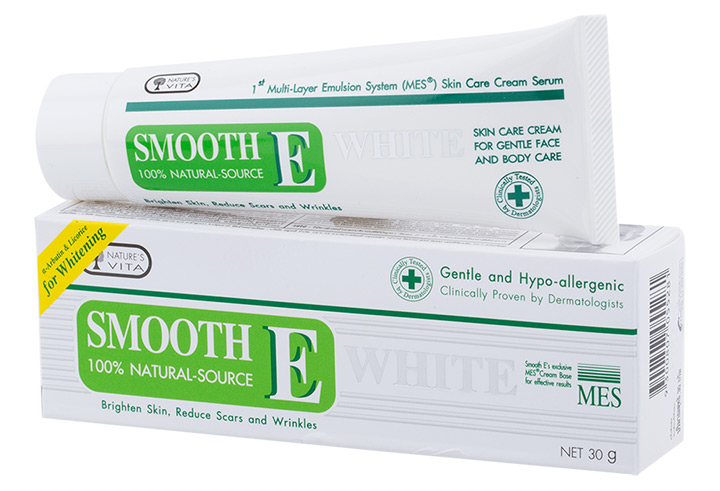 Smooth E Cream White 30g.