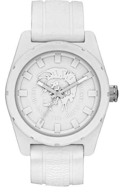 นาฬิกาข้อมือ ดีเซล Diesel Analog Rubber Company Silicone - White Men's watch รุ่น DZ1590 ของแท้ รับประกัน1ปี