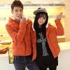 Pre-เสื้อแจคเกตกันหนาวคู่รัก กันลมมีฮู้ดสไตล์เกาหลี มี3 สี