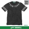 เสื้อยืด 7TH STREET - รุ่น NEW YORK STAR | TOP DRY BLACK