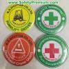 รวมๆตัวอย่างเข็มกลัด Safety Committee, Forklift, Crane, ERT