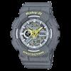 นาฬิกา Casio Baby-G Punching Pattern series รุ่น BA-110PP-8A (สายลายฉลุ) ของแท้ รับประกัน1ปี