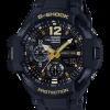 นาฬิกา Casio G-Shock นักบิน GRAVITYMASTER Vintage Black&Gold series รุ่น GA-1100GB-1A ของแท้ รับประกัน1ปี