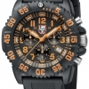นาฬิกา Luminox รุ่น LUMINOX XS.3089 Men's Navy SEAL Orange Colormark Chronograph