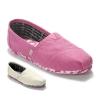 Pre-รองเท้าToms สีชมพู,สีเขา มีลายด้านใน ใส่สบาย