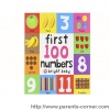 First 100 Numbers : priddy books