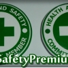 เข็มกลัด Health and Safety Committee Memmber Green & White