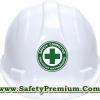 สติ้กเกอร์ติดหมวกแข็ง Safety Committee