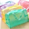 กระเป๋าพลาสติก ใส่อุปกรณ์อาบน้ำ (ซื้อ 6 ชิ้น ราคาส่ง 25 บาท/ชิ้น)