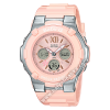 นาฬิกา Casio Baby-G Special Color BGA-110BL Blooming Flower series รุ่น BGA-110BL-4B (ชมพูไข่ไก่) ของแท้ รับประกัน1ปี