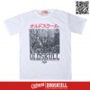เสื้อยืด OLDSKULL: EXPRESS CITY TOWN | WHITE
