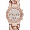 นาฬิกา Michael Kors ไมเคิล คอร์ รุ่น MK3247 Runway Twist Rose-Gold Stainless Bracelet Womens Watch