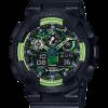 นาฬิกา คาสิโอ Casio G-Shock Limited Lime Accent Color series รุ่น GA-100LY-1A ของแท้ รับประกัน 1 ปี (นำเข้า Japan)